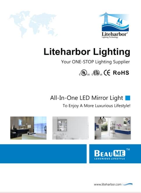 LED Mirror Light from Liteharbor Lighting