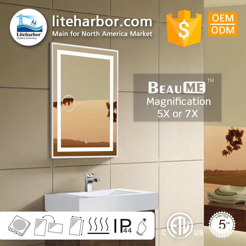 Illuminated Bathroom Mirrors - A Stylish Choice