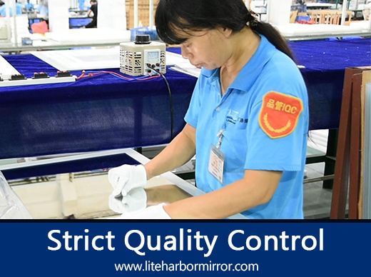 Strict Quality Control
