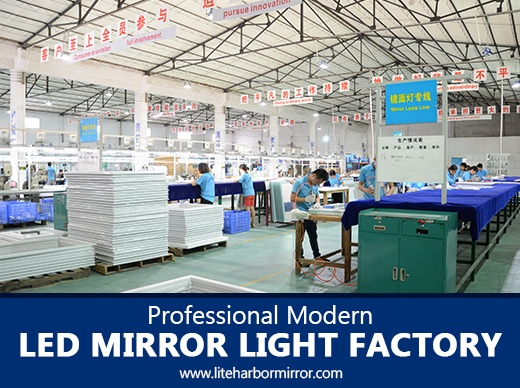 Professional Modern LED Mirror Light Factory