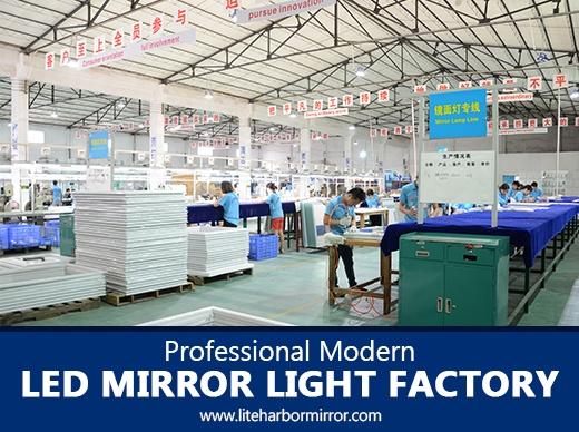 Professional Modern LED Mirror Light Factory