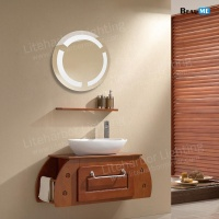 Liteharbor Customized Size Bathroom LED Makeup Mirror Light