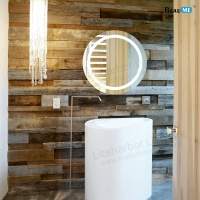 Liteharbor Customized Size Round LED Bathroom Mirror Light