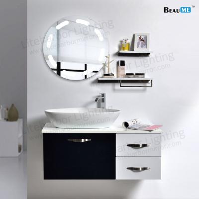 Liteharbor Customized Size LED Illuminated Makeup Mirror