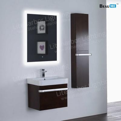 Liteharbor Frameless Fog Resistant Bathroom Illuminated Mirror
