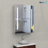 Liteharbor Frameless Customized Size LED Bathroom Cabinet Mirror