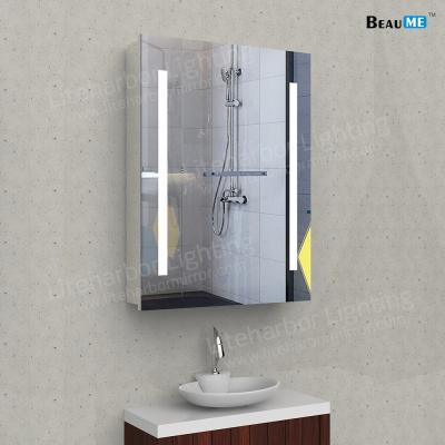 Liteharbor Frameless Customized Size LED Bathroom Cabinet Mirror