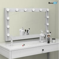 Liteharbor Wall Mounted Hollywood Makeup Mirror