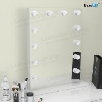Liteharbor Single Side Desktop LED Lighted Hollywood Mirror
