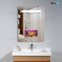 Liteharbor Customized Smart Touch Control bathroom tv mirror Factory