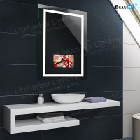 Liteharbor High End Customized Size Smart Touch Control mirror tv Manufacturer