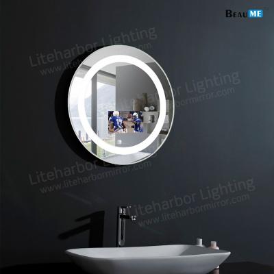 Liteharbor hospitality/Hotel/Salon Customized Size LED bathroom Mirror