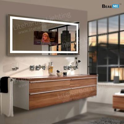 Liteharbor IP44 Waterproof Rectangle LED Smart TV Mirror Light