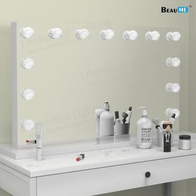 Liteharbor Table Top LED Lighted Hollywood Mirror