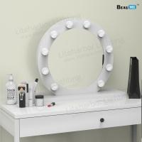 Liteharbor Table Top Vanity Girl Hollywood Makeup Mirror