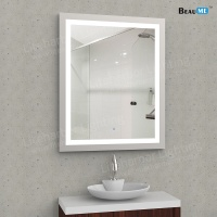 Liteharbor Bathroom Aluminum Frame Illuminated Mirror