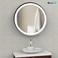 Liteharbor Aluminum Frame Vanity Lighted Mirror