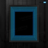 Liteharbor Wall Mounted RGBW LED Infinity Mirror