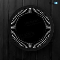 Liteharbor Circular LED Lighted 3D Mirror