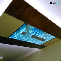 Liteharbor Pendant Mounted LED Infinity Mirror