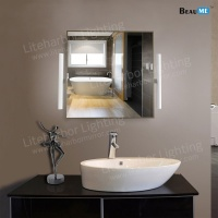 Liteharbor Classical Square Shape LED Illuminated Mirror