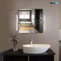 Liteharbor Classical Square Shape LED Illuminated Mirror