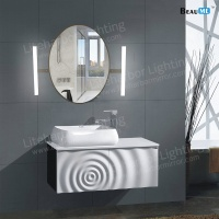 Liteharbor Classical Oval Shape LED Illuminated Mirror