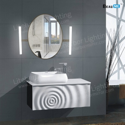 Liteharbor Classical Oval Shape LED Illuminated Mirror
