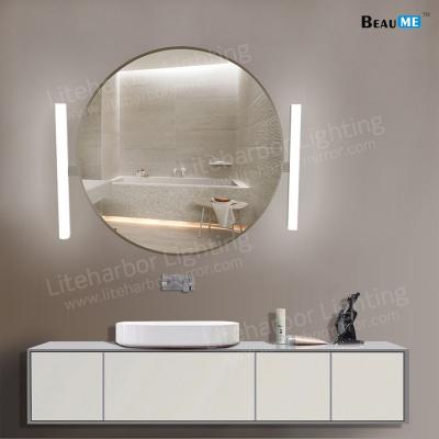 Liteharbor Classical Round Shape LED Illuminated Mirror