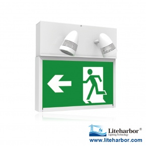 Emergency Exit Light Combo