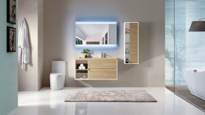 LED Back-lit Mirror