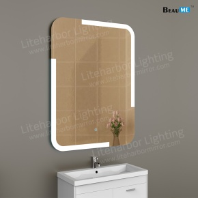 Illuminated Art Mirror